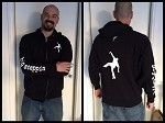 Big Steppin Sleeve Hoodie - Zip (only small, 3XL, 4XL, 5XL available)